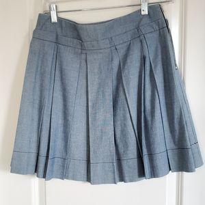 See By Chloe Pleated Mini Skirt